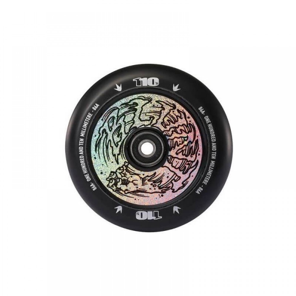 Blunt Hand Hologram hollow core 110 mm hjul