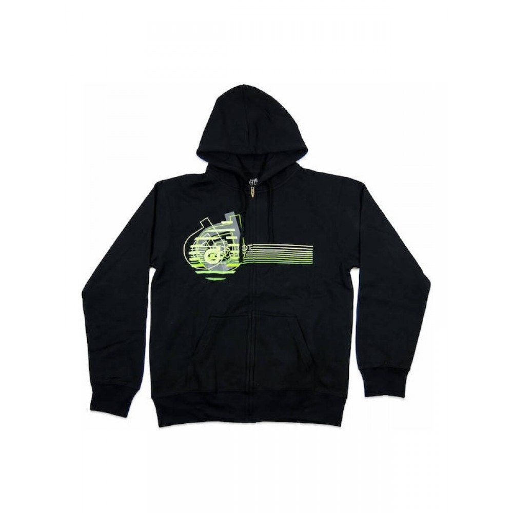 District Supply Co Neon hoodie