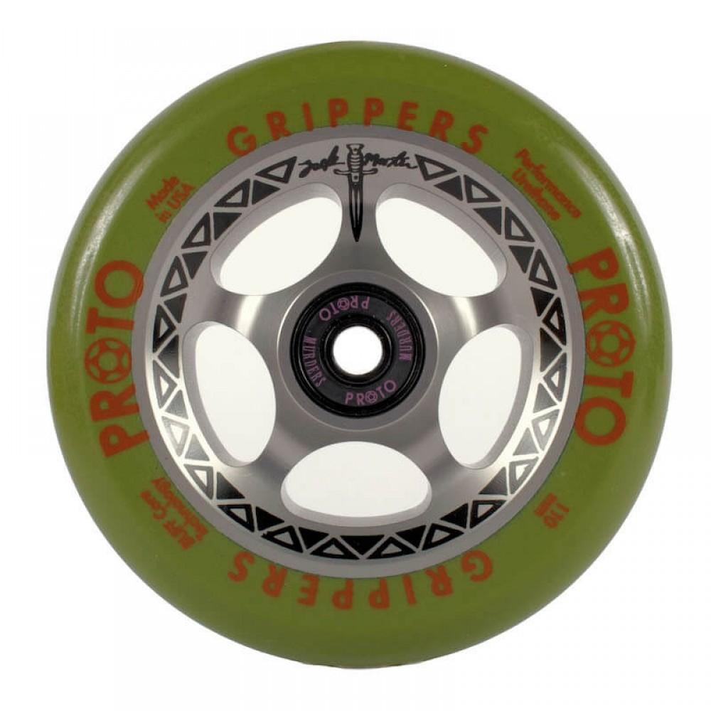 "Proto ""Tracker"" grippers hjul til løbehjul (Zack Martin signature)"