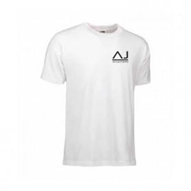 AJ T-shirt med lille logo