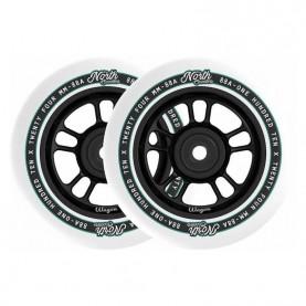 North Wagon 110mm løbehjul hjul