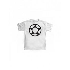 Proto big star hvid T-shirt
