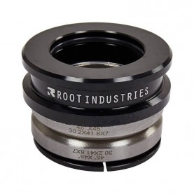 Root tall stack integrated headset løbehjul sort-