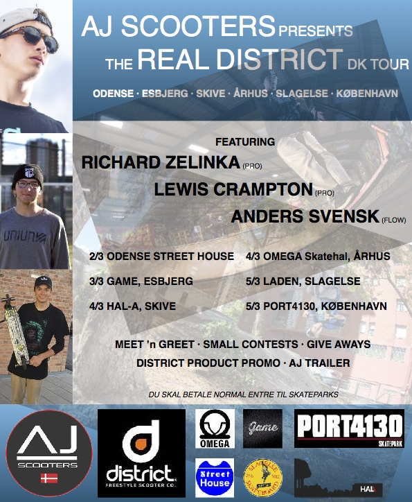 The Real District DK tour